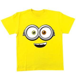 Amazon.co.jp: ミニオンズ Tシャツ フェイス イエロー キッズ 100㎝サイズ MNAP55: ホビー (49998)