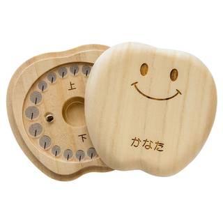 Amazon | 乳歯ケース 《ティース君》 桐の乳歯ボックス (スマイルティース君) (50298)