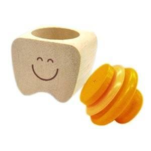 Amazon.co.jp: 【木製】 乳歯のおうち(オレンジ) (50308)