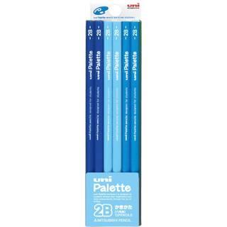 Amazon | 三菱鉛筆 かきかた鉛筆 ユニパレット 2B 1ダース (50766)