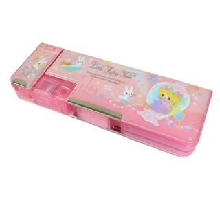 とっておしゃれな筆箱です。時間割カードも付いて...