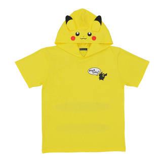 ピカみみフード付きTシャツで、ピカチュウになりきっちゃおう!