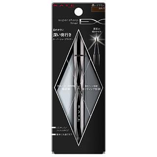 Amazon.co.jp:ケイト アイライナー スーパーシャープライナーEX BR-1 濃いブラウン:ビューティー (52548)