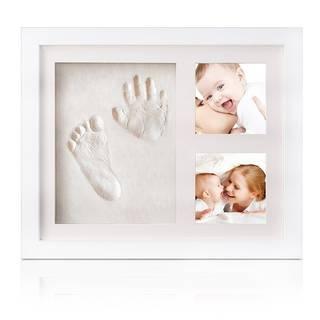 Amazon | TEPSMIGO 赤ちゃんの手形 足形フレーム フットプリントフレーム 写真立て (52952)