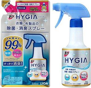 Amazon | トップ ハイジア 消臭・芳香剤 除菌・消臭スプレー 本体 350ml (56296)