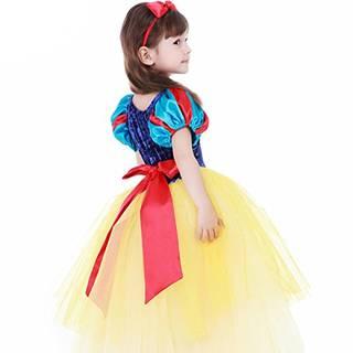 Amazon.co.jp: 子供用 白雪姫風 ドレス+マント+カチューシャ プリンセス風 ワンピース (62153)