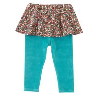 Amazon |  chuckle 小花襟スカート付きスパッツ (65908)
