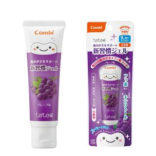 Amazon | コンビ テテオ 歯みがきサポート 新習慣ジェル (67769)