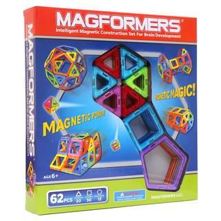 新感覚のマグネットブロック 創造力を育てる知育玩具!...