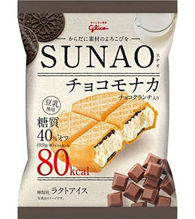 Amazon | グリコ SUNAO チョコモナカ 82ml ×36袋 | グリコ (82481)