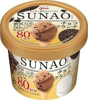 Amazon | グリコ SUNAO チョコクランチ カップ120ml ×36個 | グリコ (82483)