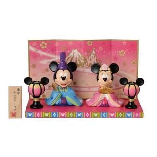 Amazon | 【東京ディズニーリゾート限定】ミッキーとミニーのひな人形 (83016)