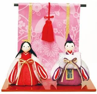 Amazon | 雛人形 コンパクト ちりめん細工 (83021)
