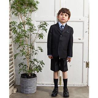 【楽天市場】入学式 スーツ 男の子 ブラックフォーマル 5点セット (83054)