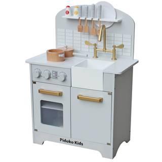 Amazon | pidoko Kids Toy Kitchen (83696)
