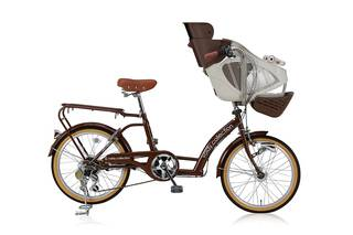 Amazon | voldy SHIMANO 子供乗せ自転車 6段変速 VO-KDL206HD-BAA (84457)