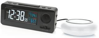 Amazon.co.jp : アデッソ 目覚まし時計 起ROCK 振動 & 大音量 電波時計 MY-96  (84519)