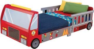 Amazon.co.jp | キッドクラフト 消防車 トッドラー ベッド (84530)