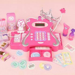 Amazon | うさももちゃん プリンセス レジスター ピッとお買い物 マイクでおしゃべり お店屋さんごっこ (85102)