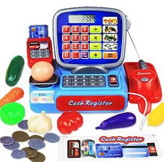 Amazon.co.jp:Pumpumly キャッシュレジスター 児童買い物のゲーム 電卓付き (85110)