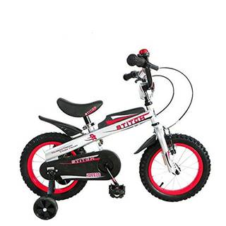 Amazon | Cyfie ナイト 子供用自転車 泥除け付き 補助輪付き (86212)