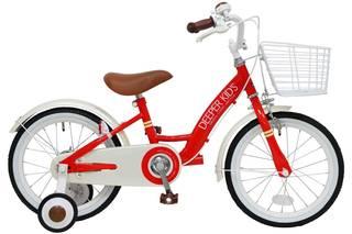 Amazon | DEEPER 16インチ 子供用自転車 バスケット付き (86214)
