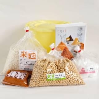 Amazon | 味噌手作りセット 4kg用 樽付き (90183)