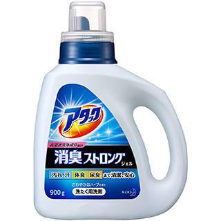 Amazon | 消臭ストロング アタック ジェル 衣料用洗剤 本体 900g (91289)
