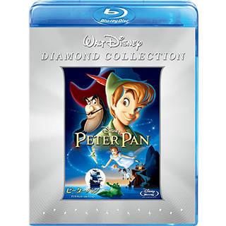 ピーター・パン ダイヤモンド・コレクション ブルーレイ+DVDセット [Blu-ray] (91745)