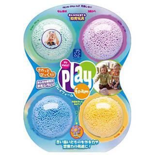 Amazon | Playfoam Classic 4-Pack つぶつぶ粘土遊び プレイフォーム クラシック(4個入り)  (92458)