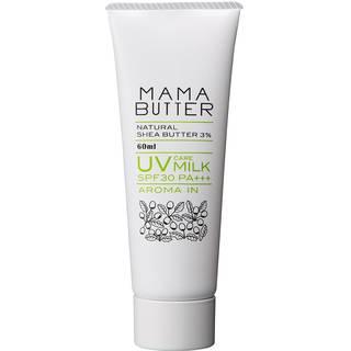 Amazon | ママバター UVケアミルク アロマイン SPF30 PA+++ 60ml (93267)