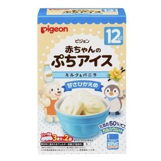 Amazon |【公式】ピジョン 赤ちゃんのぷちアイス ミルク&バニラ 20g(10g×2袋 (93400)