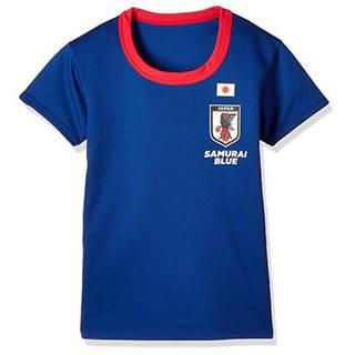 Amazon | [バンダイ]サッカー日本代表半袖丸首Tシャツ ボーイズ (94656)