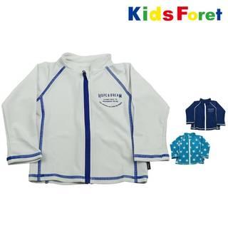 Amazon.co.jp: 【子供服】 Kids Foret (キッズフォーレ) 無地・星柄ラッシュガード (95280)