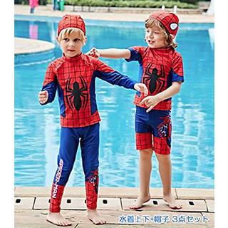 Amazon.co.jp: 子供に大人気のスパイダーマン水着 キッズスイムウェア 男の子 (95286)
