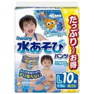 Amazon | ムーニー 水あそびパンツ 男の子用 Lサイズ (95298)
