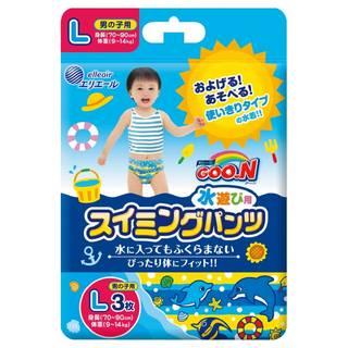 Amazon | グーン スイミングパンツ L (9~14kg) 男の子用 (95299)