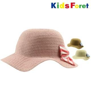 Amazon.co.jp:【子供服】 Kids Foret 洗えるたためる丸天ハット帽子  (95817)