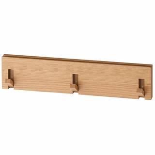 Amazon|無印良品 壁に付けられる家具・3連ハンガー (97748)