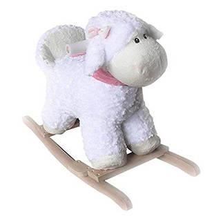 Amazon.co.jp: かわいいひつじのロッキングシープ 乗って遊べるぬいぐるみ【完成品】 (97790)