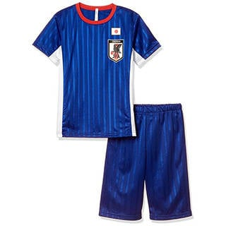 Amazon | [バンダイ] サッカー日本代表 メッシュ半袖Tスーツパジャマ (98150)