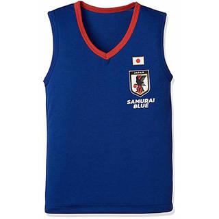 Amazon | [バンダイ] サッカー日本代表V首サーフシャツ ボーイズ (98152)