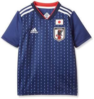 Amazon.co.jp: [アディダス] Kidsサッカー日本代表 ホームレプリカユニフォーム半袖 (98163)