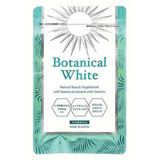 Amazon | Botanical White(ボタニカルホワイト)30粒 (98453)