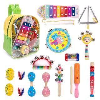Amazon | 楽器おもちゃ 赤ちゃんおもちゃ 0歳 1歳 パーカッションセット (98632)