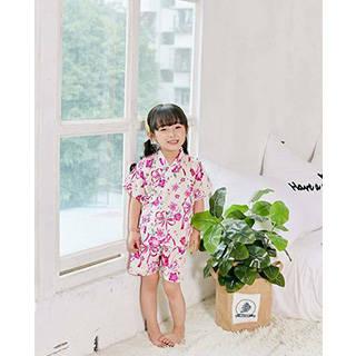 Amazon | SunnyBaby 夏 甚平 子供服 ベビー 女の子 (98771)