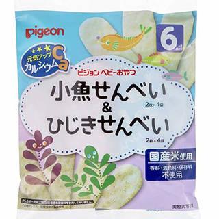 Amazon | ピジョン 元気アップカルシウム 小魚せんべい&ひじきせんべい (99752)