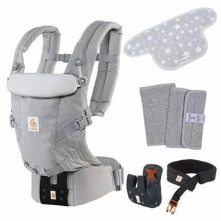 Amazon | エルゴベビー ベビーキャリア ADAPT パールグレー ヘッドサポートセット (99997)