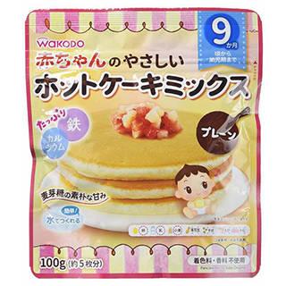 Amazon | 赤ちゃんのやさしいホットケーキミックス プレーン (100155)