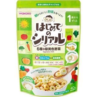 Amazon | 和光堂 1歳〜ずっと はじめてのシリアル 6種の緑黄色野菜 40g (101876)